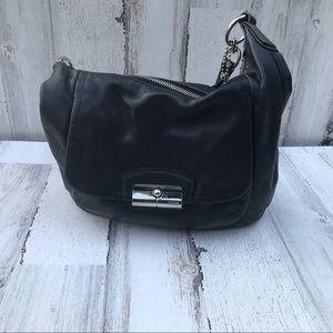 Vintage coach black handbag